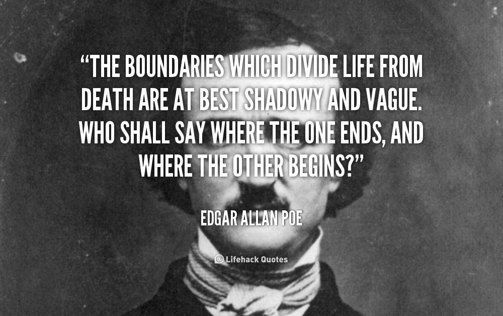 Edgar Allan Poe Quotes About Death Quotesgram