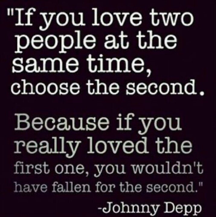 Quotes About Loving Two People At Same Time. QuotesGram