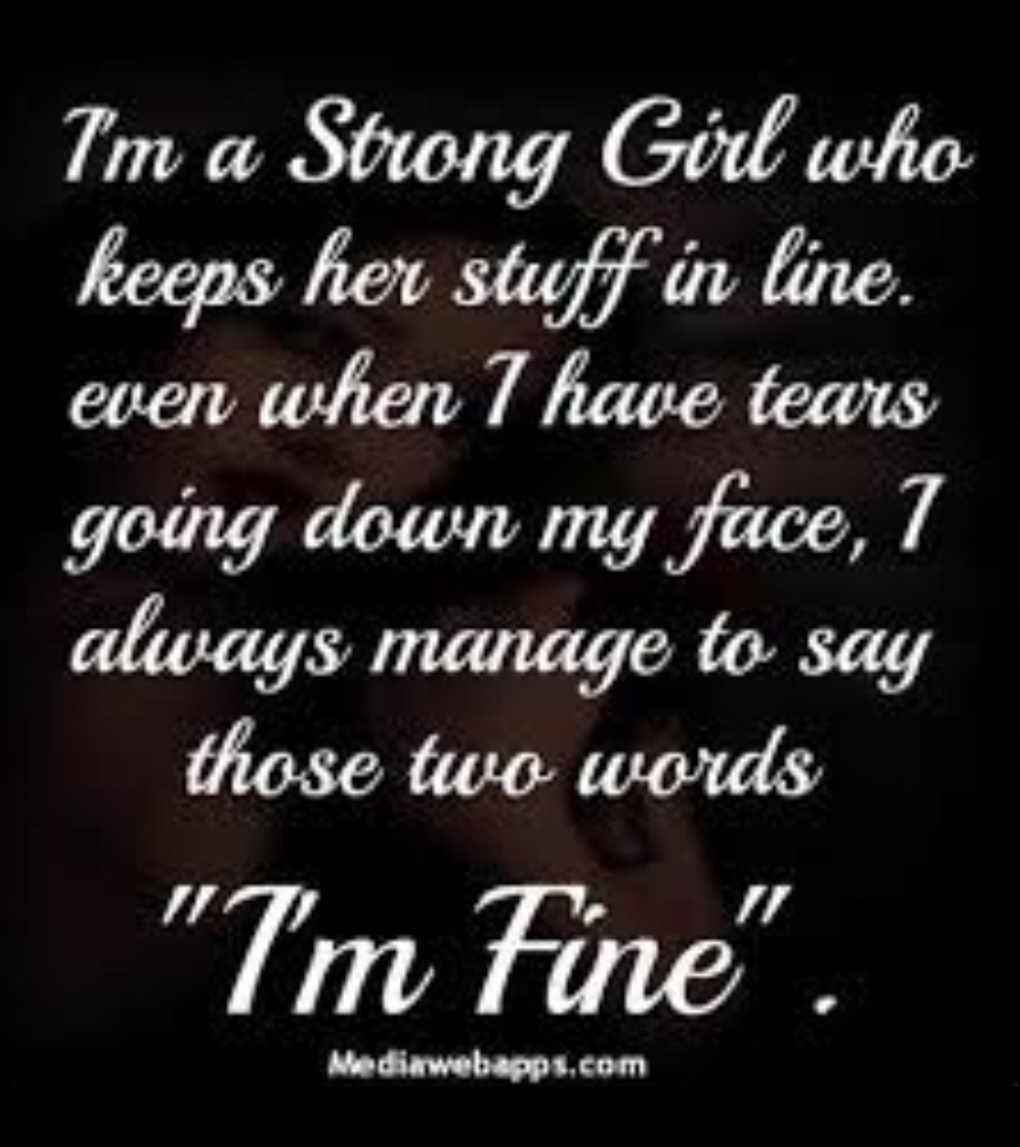 Strong Girl Quotes And Sayings. QuotesGram