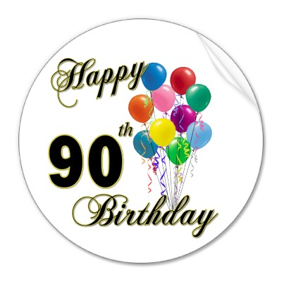 90 Year Old Birthday Quotes. QuotesGram