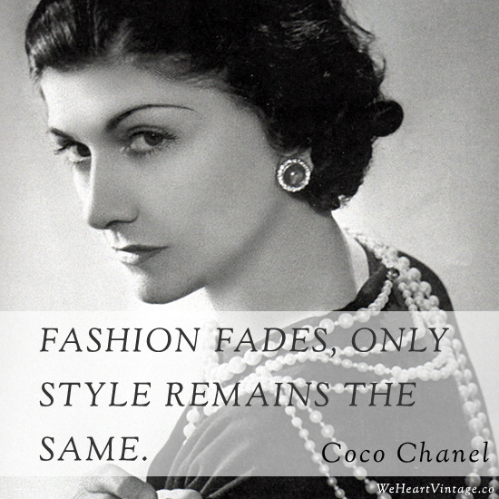 Coco Chanel Famous Quotes: Coco Chanel Quotes About Fashion. QuotesGram