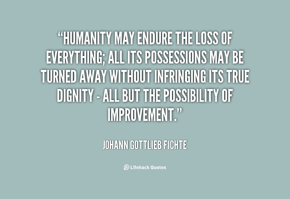 quotes loss of humanity  quotesgram