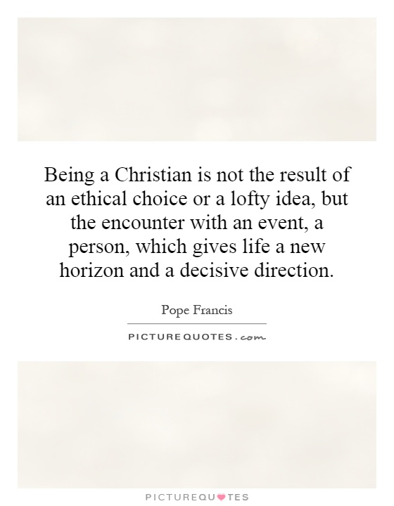 being a christian Is the christian life supposed to be boring some people assume that being a christian is boring because they've heard that christians have to give up all the.