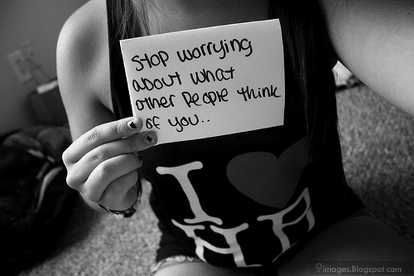 Worrying About Other People Quotes. QuotesGram
