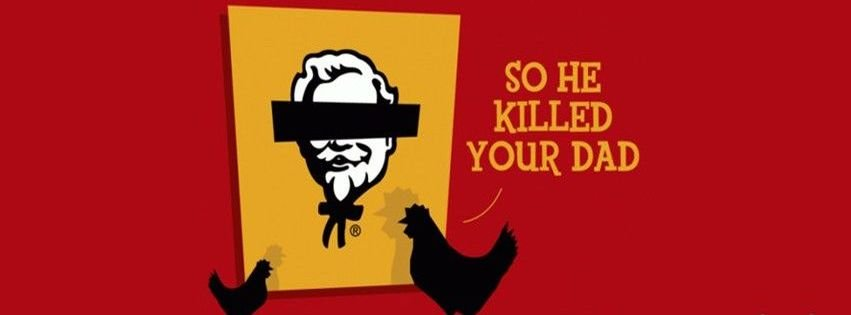 Fried Chicken Funny Quotes Quotesgram: Kfc Funny Quotes. QuotesGram