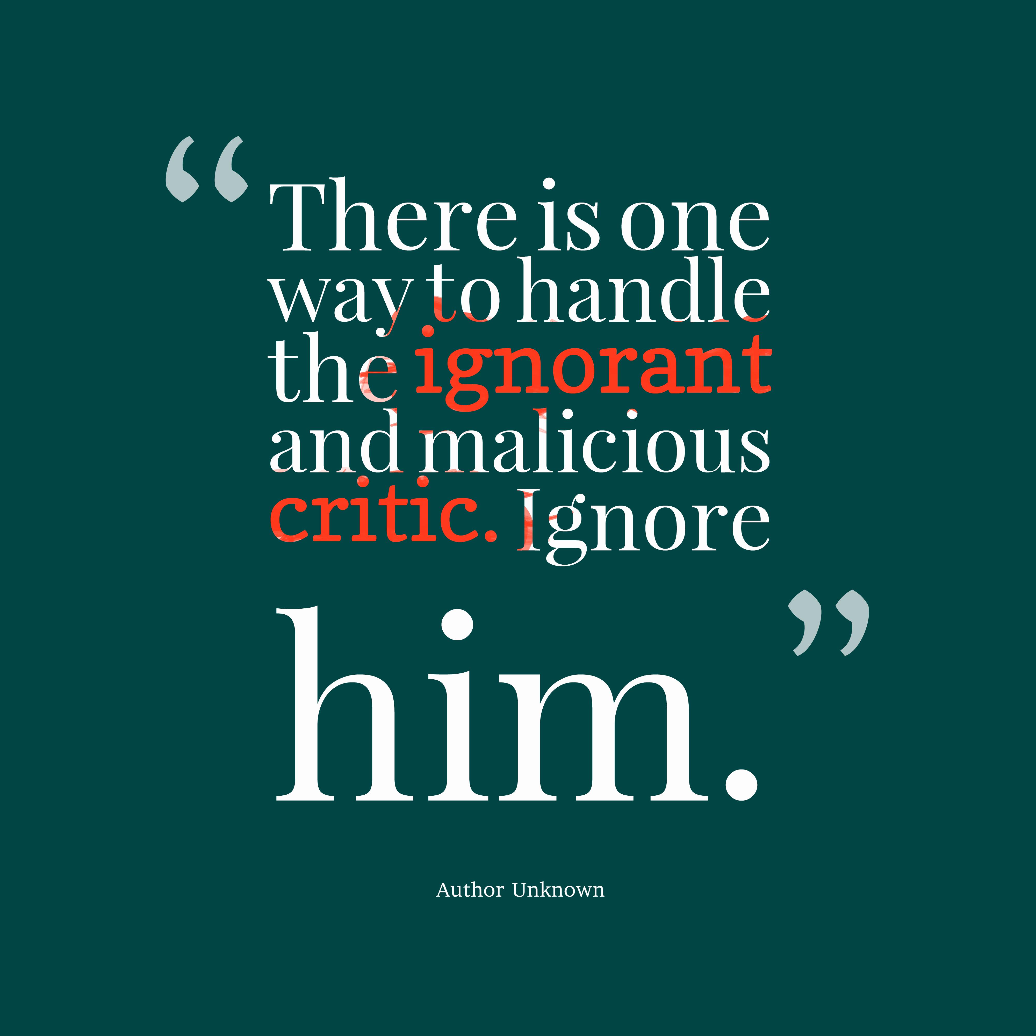 People Are Ignorant Quotes. QuotesGram