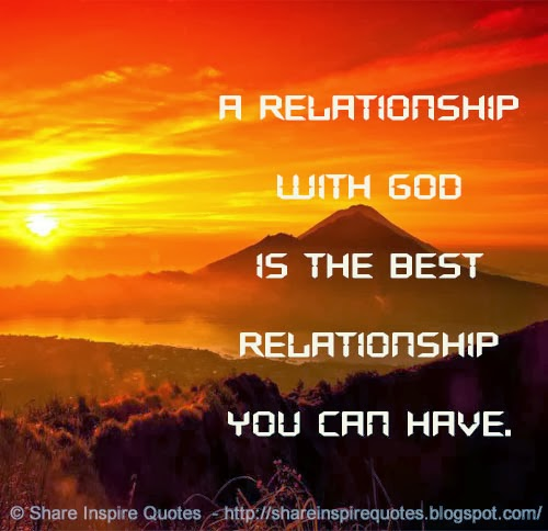 God As The Center Of Relationships Quotes: Relationship With God Quotes. QuotesGram