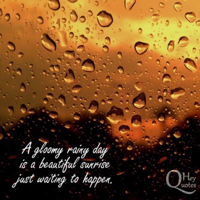 Rainy Day Quotes And Sayings: Beautiful Rainy Day Quotes. QuotesGram