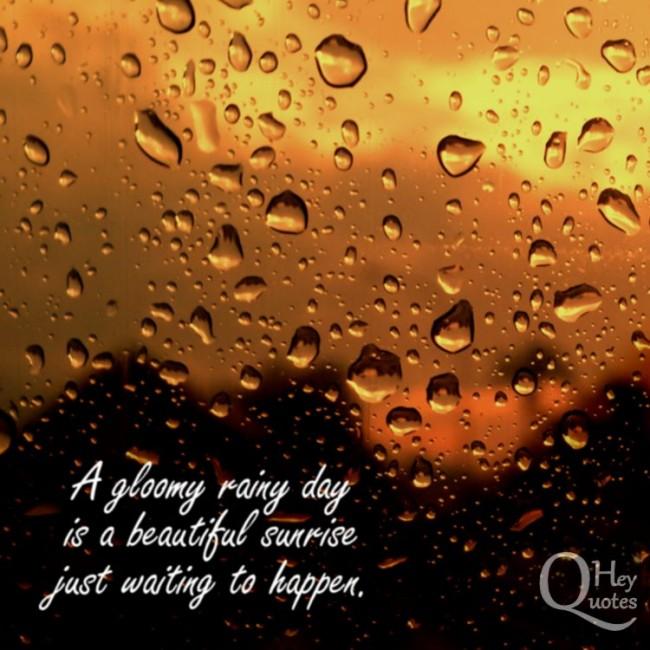 Happy Rainy Day Quotes: Beautiful Rainy Day Quotes. QuotesGram