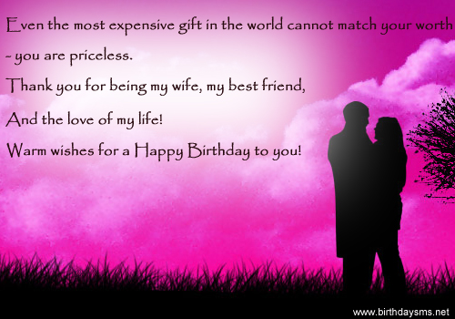 Happy Birthday Quotes For Wife. QuotesGram