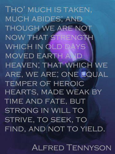 Tennyson Ulysses Quotes Quotesgram