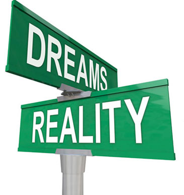dreams vs reality essay Love is a dream vs love is a nightmare essay sample what is love love is an intense feeling of deep affection for someone or something i wish love was that simple .