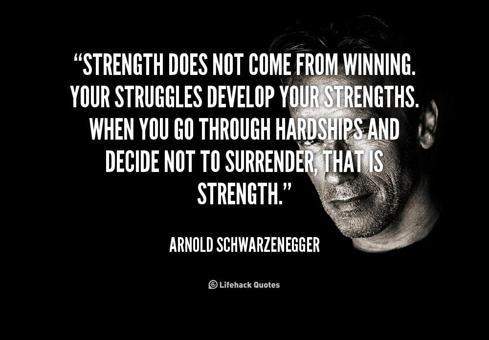 Strength Quotes  Quotesgram