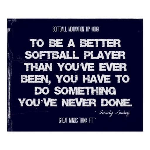 Motivational Softball Quotes: Motivational Quotes For Softball Players. QuotesGram