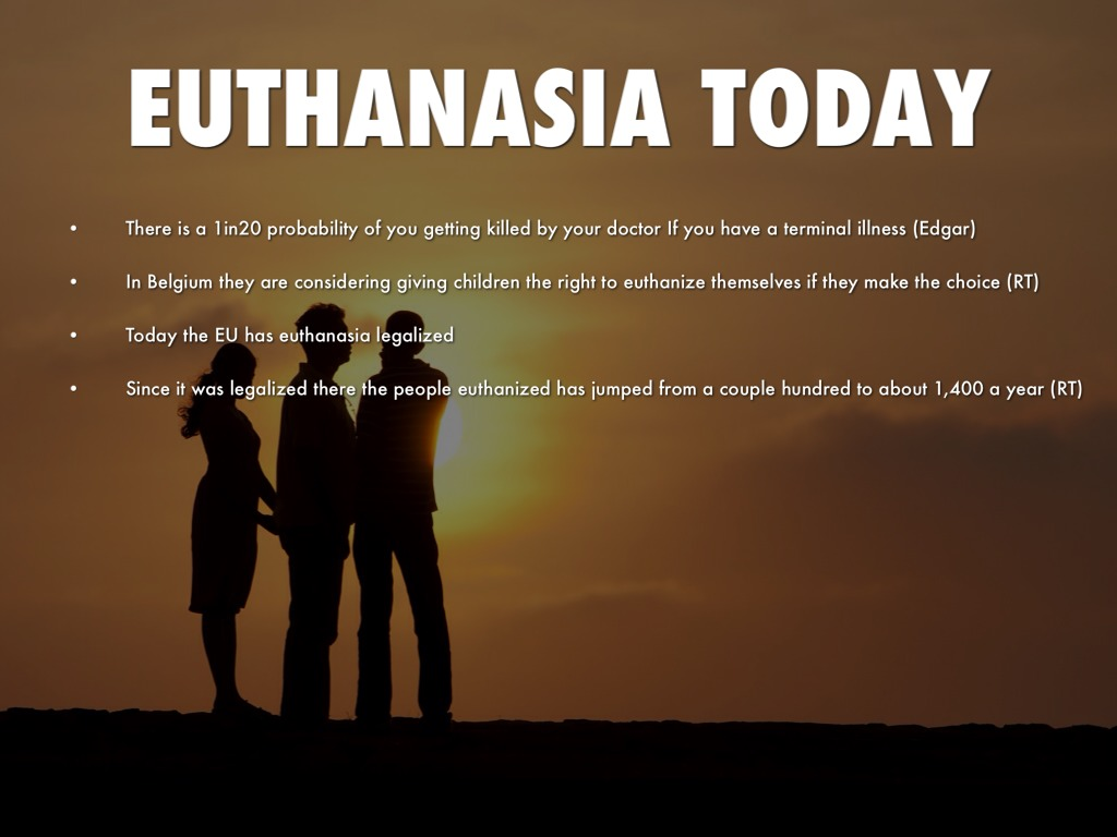 pros euthanasia Euthanasia is an issue most politicians wouldn't touch with a long pole and with good reason: any argument on the subject usually devolves into a series o.
