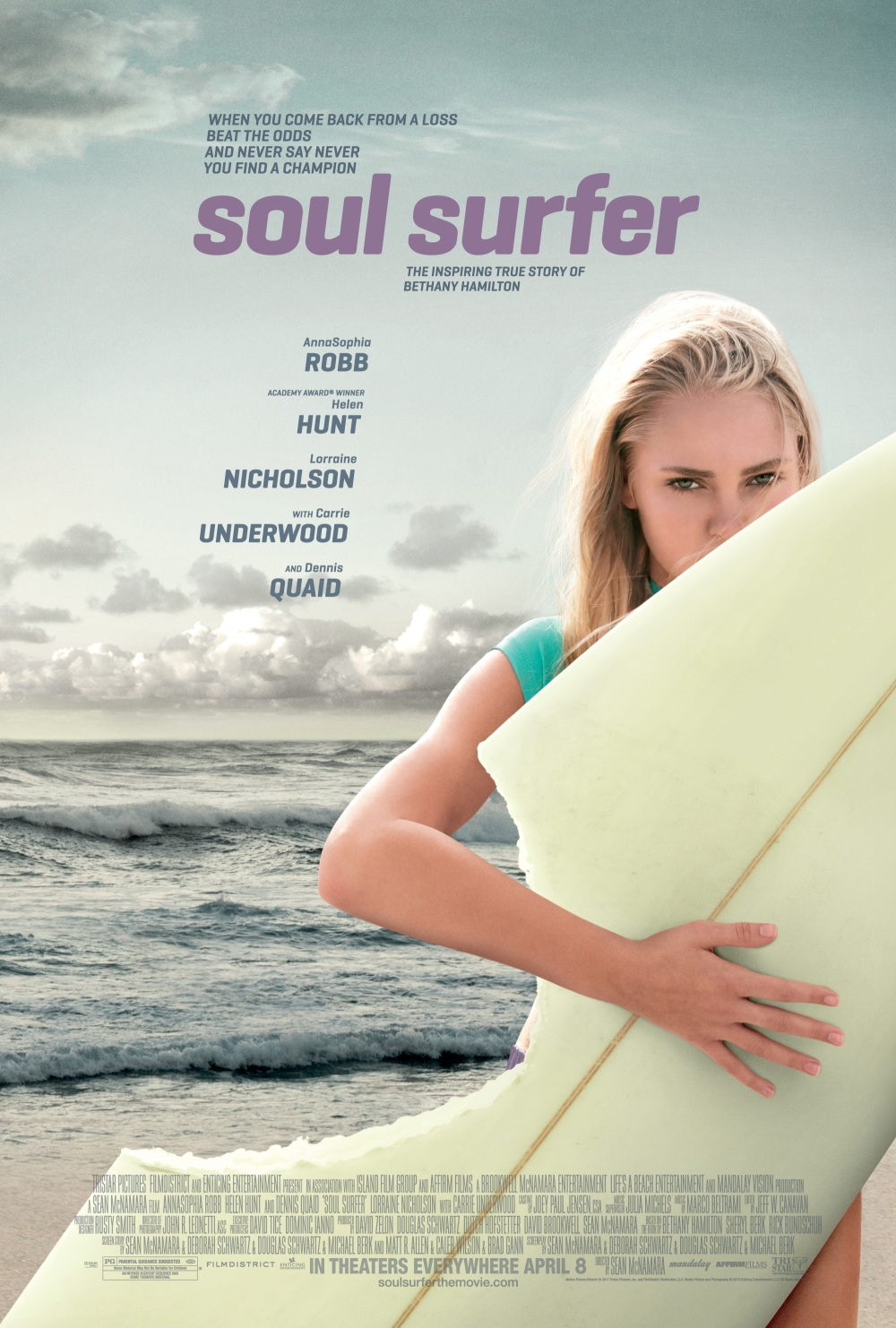 (Book) Soul Surfer: A True Story of Faith, Family, and Fighting to Get Back on the Board