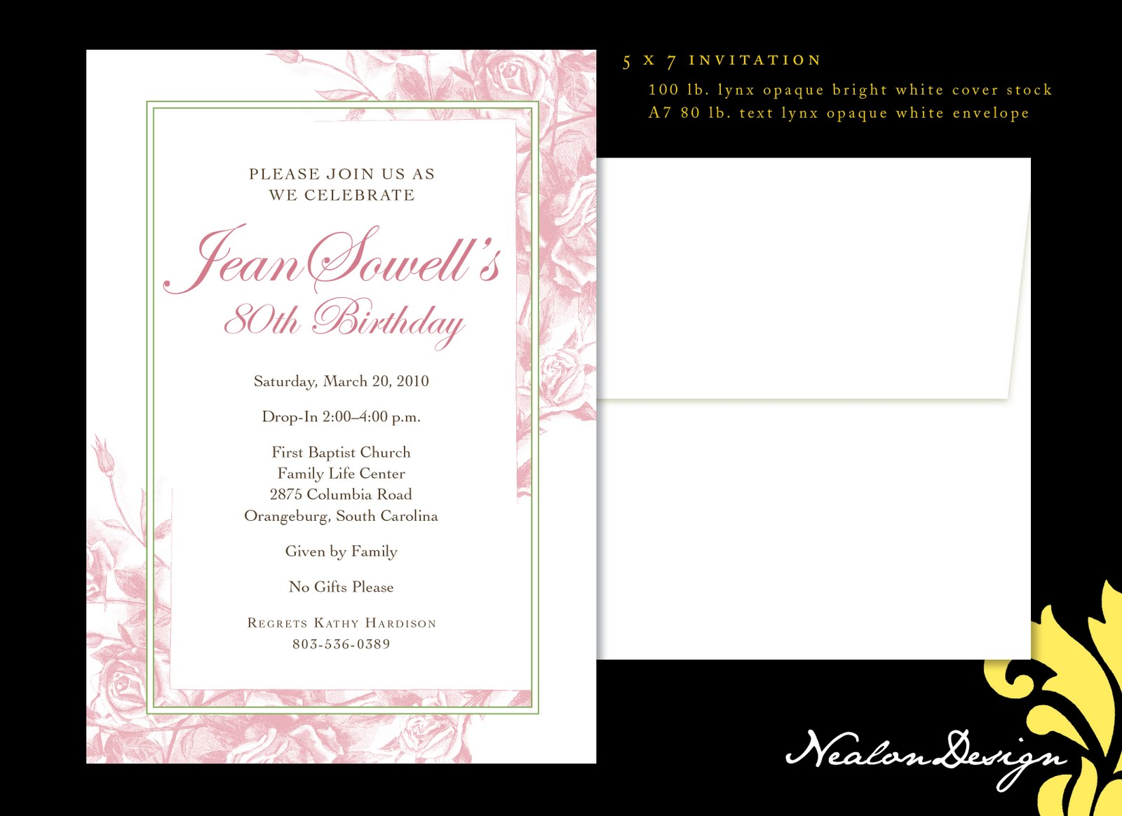 90 Birthday Party Invitations is best invitation template