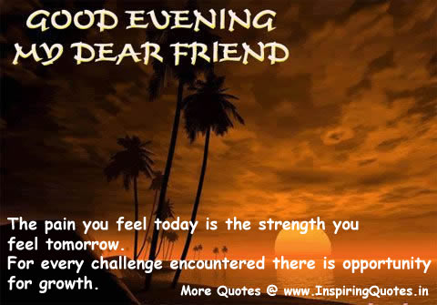 Evening Quotes And Sayings. QuotesGram