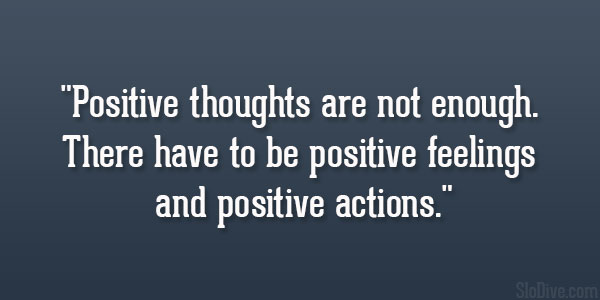 Positive Action Quotes Quotesgram