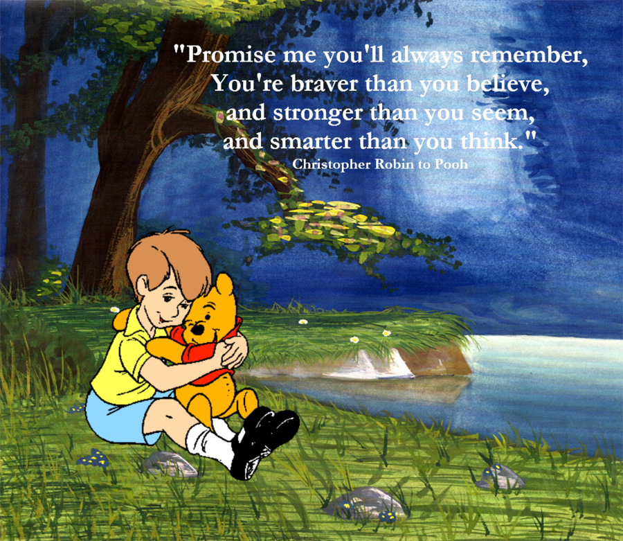 Christopher Robin To Pooh Quotes Quotesgram