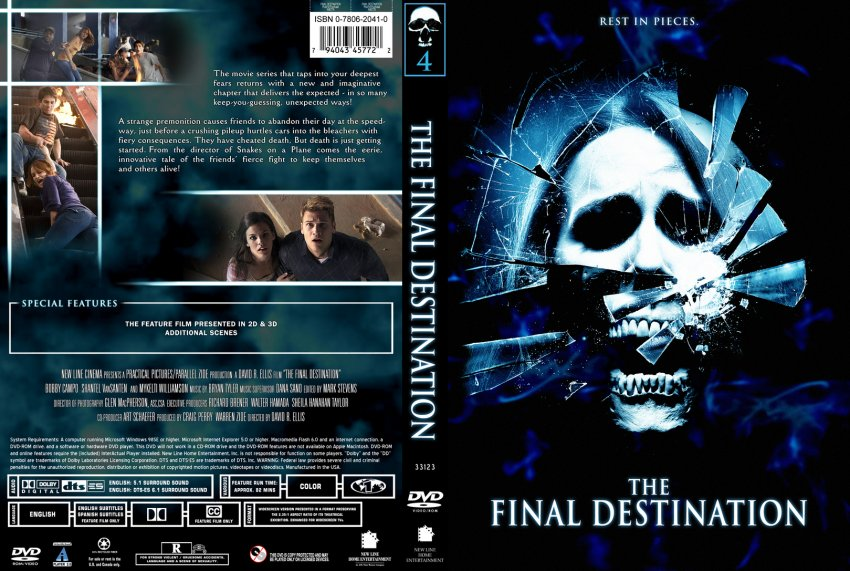 final destination 1 The final destination movie reviews & metacritic score: on what should have been a fun-filled day at the races, nick o'bannon has a horrific premonition in w.