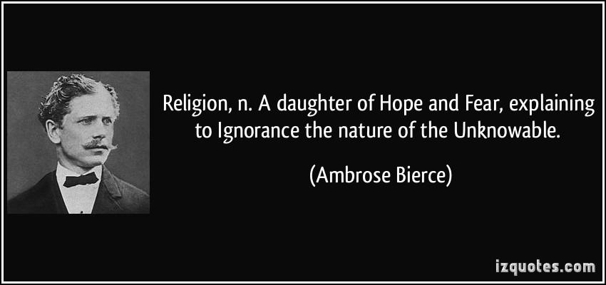 ignorance of religion