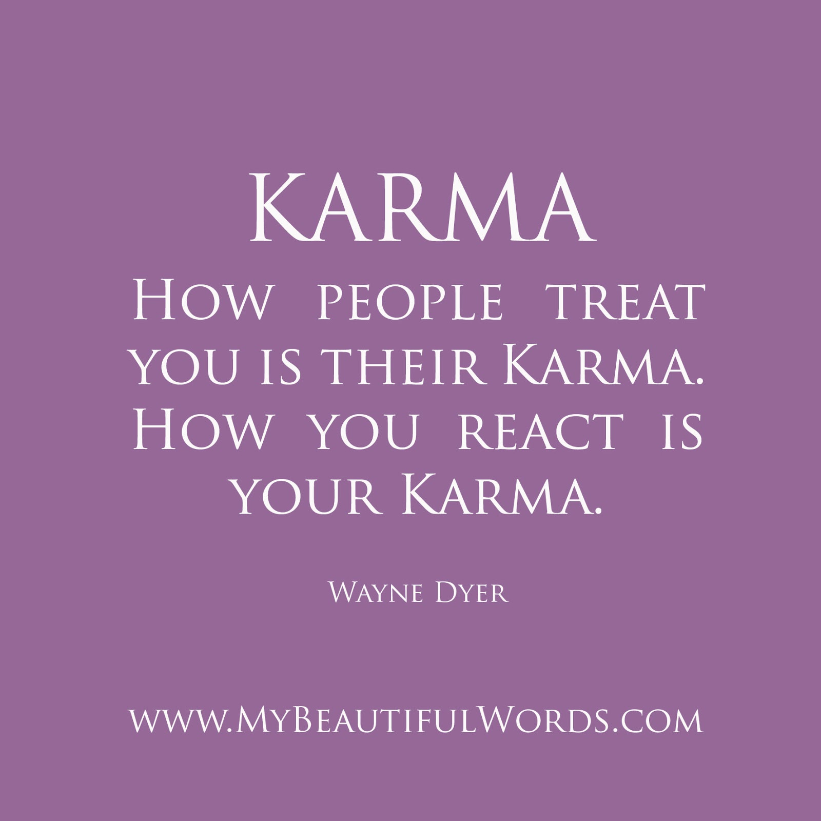 Karma Sayings And Quotes: Karma Quotes For An Ex. QuotesGram