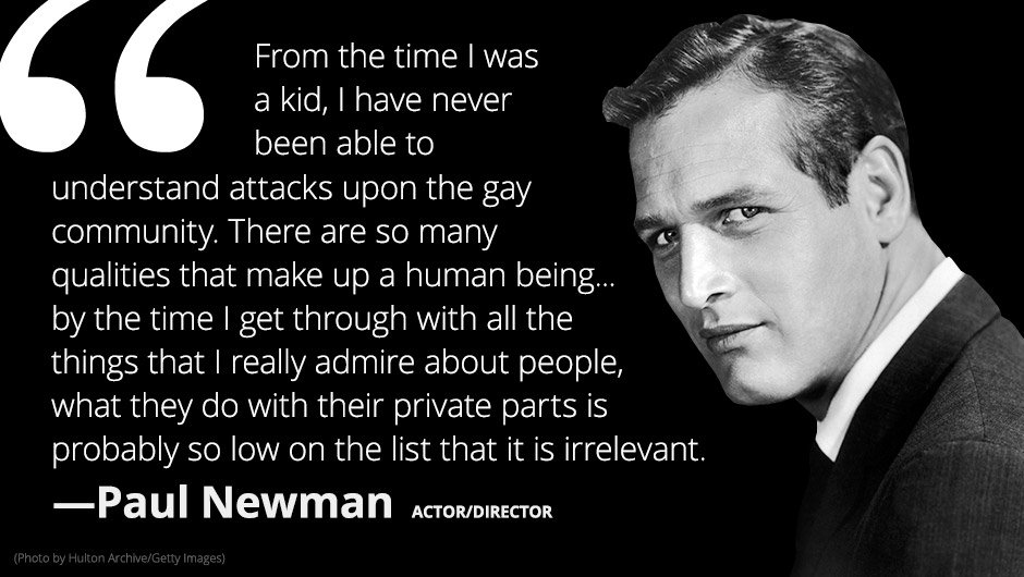 Celebrity anti gay quotes for facebook