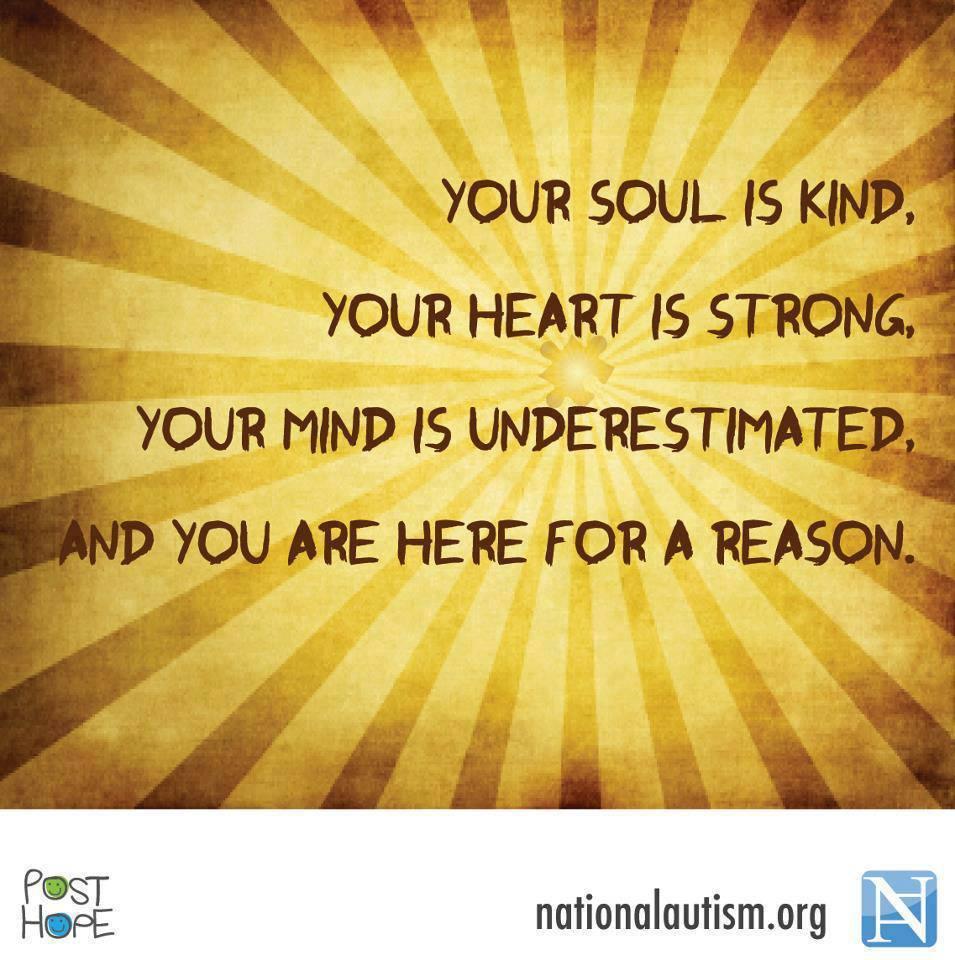Inspirational Quotes About Positive: Autism Inspiration Pinterest Quotes. QuotesGram