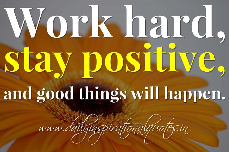 hard to stay positive quotes quotesgram
