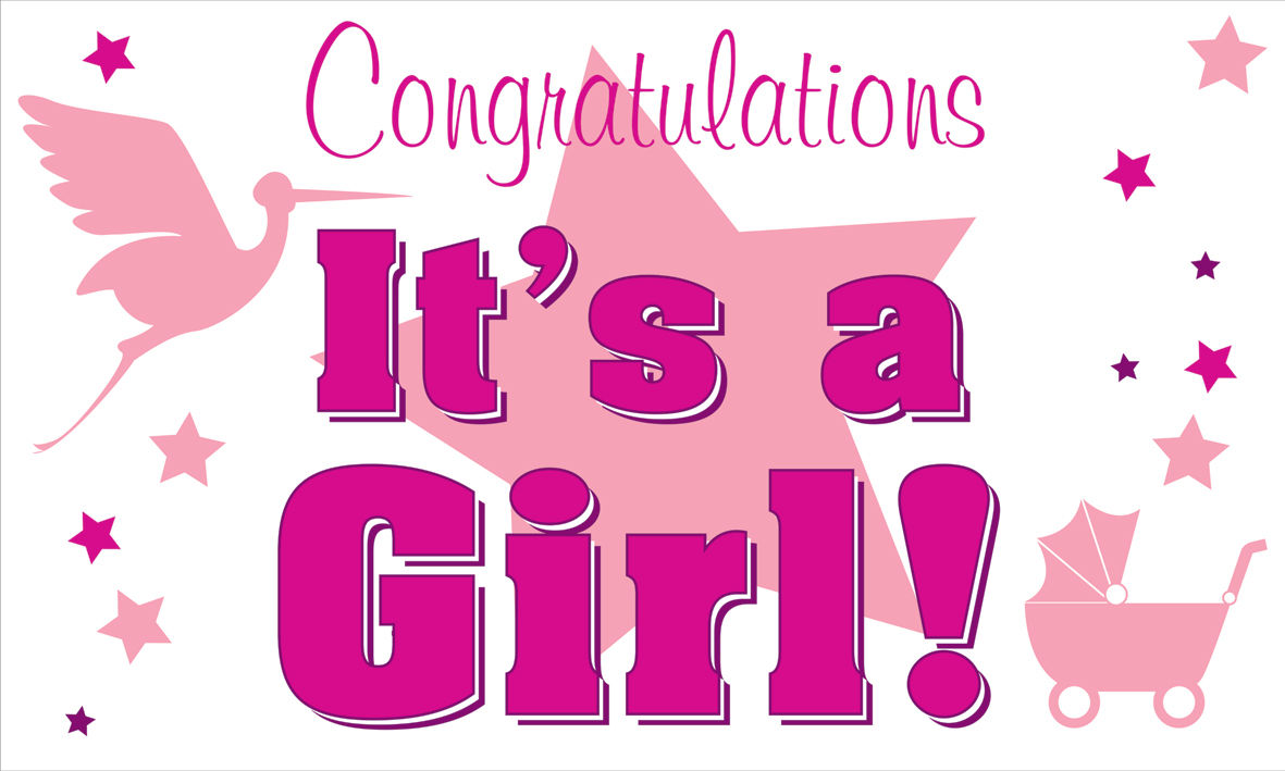 Congratulations Its A Girl Quotes Quotesgram