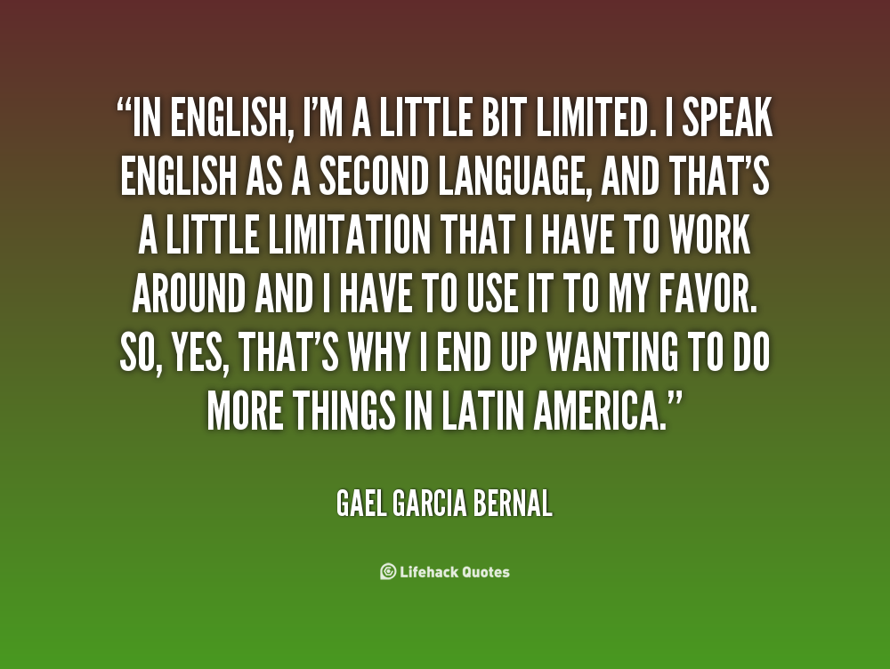 english as a second language quotes quotesgram