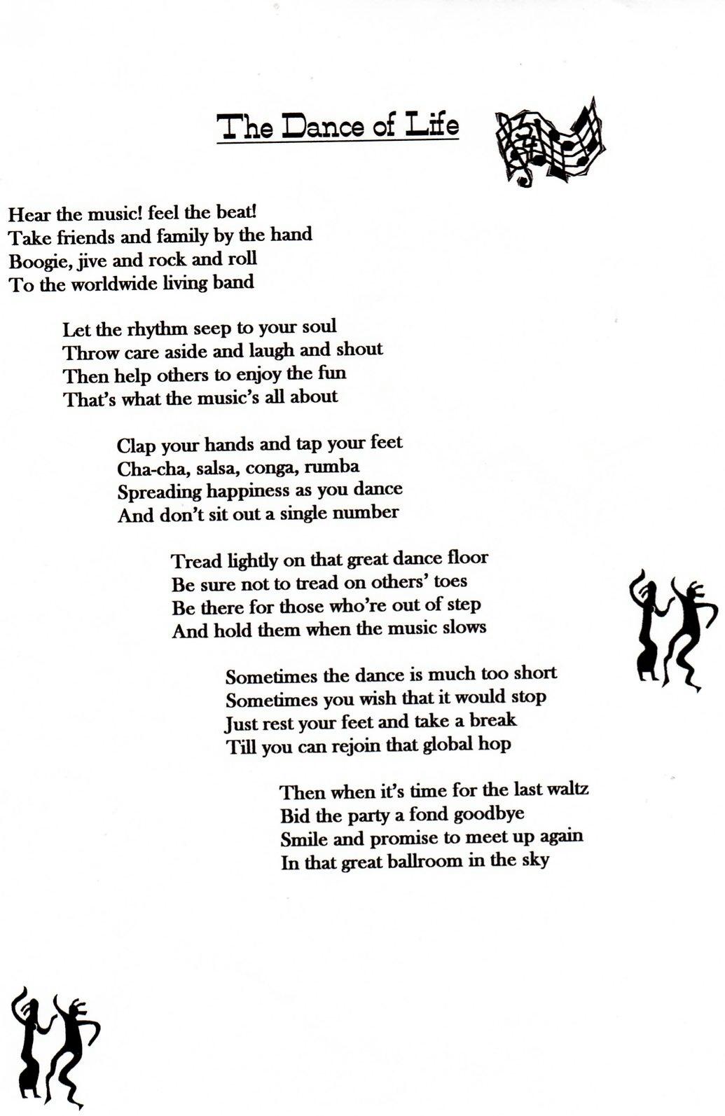 Dance - Poems by Teen Poets