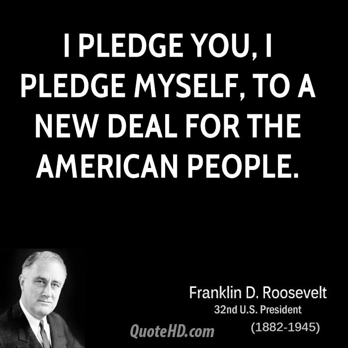a view on franklin delano roosevelts new deal Franklin d roosevelt: franklin delano roosevelt served as president from march 1933 to april 1945 roosevelt promised a new deal and he certainly delivered.