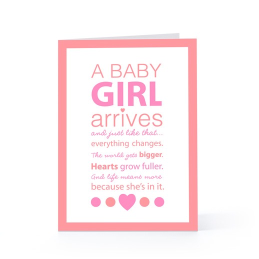 Quotes For A Baby Girl: Baby Girl Arrival Quotes. QuotesGram