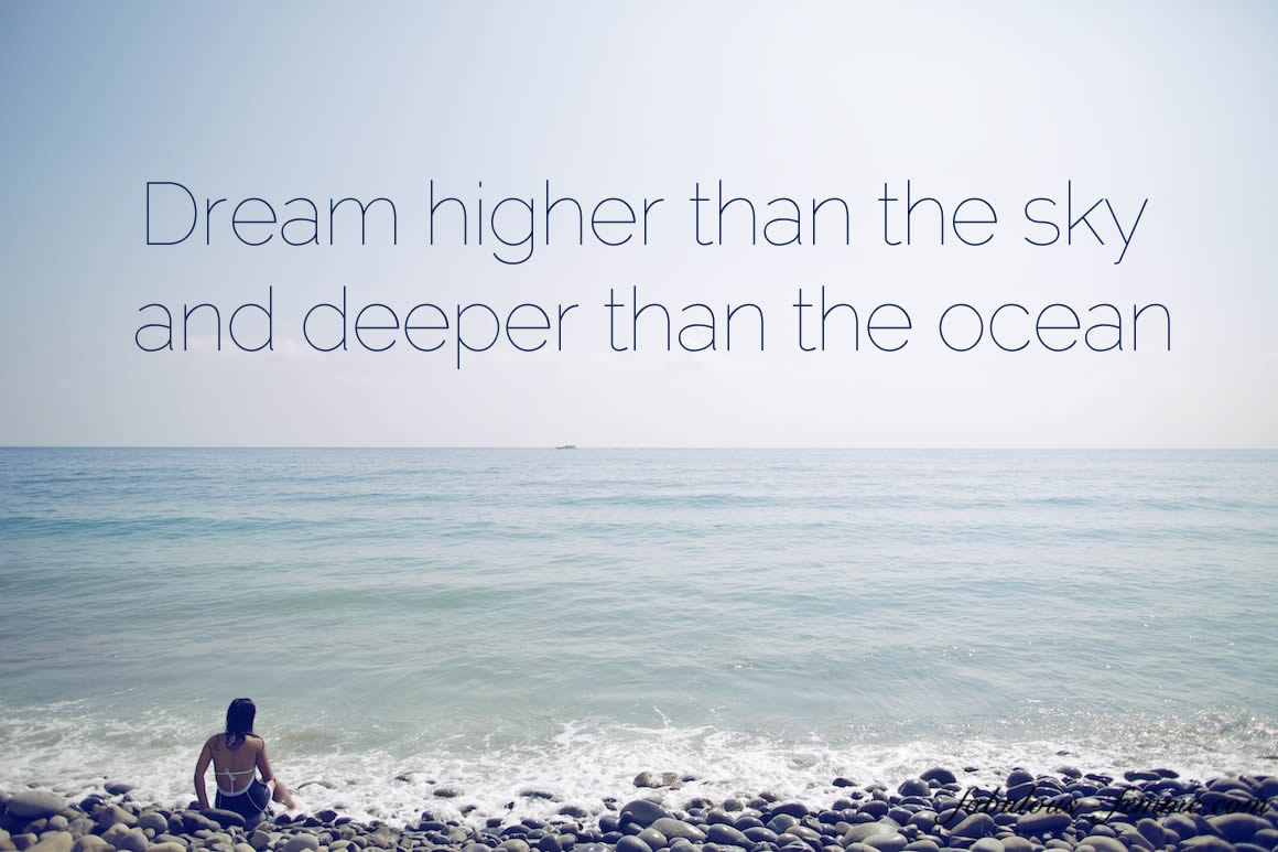 Quote About The Sea: Beach Dreams Quotes And Sayings. QuotesGram