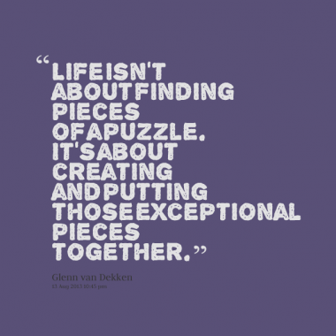 Quotes About Teamwork And Pieces Puzzles Quotesgram