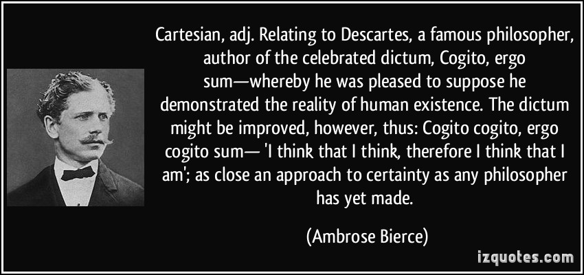 an analysis of descartess mechanical philosophy What is a real-world application of hobbes' and descartes the expert examines the application of hobbes's and descartes's theories philosophy view subject.