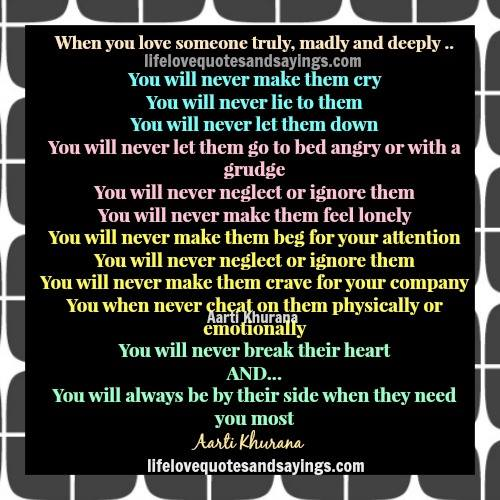 Quotes About Truly Loving Someone. QuotesGram