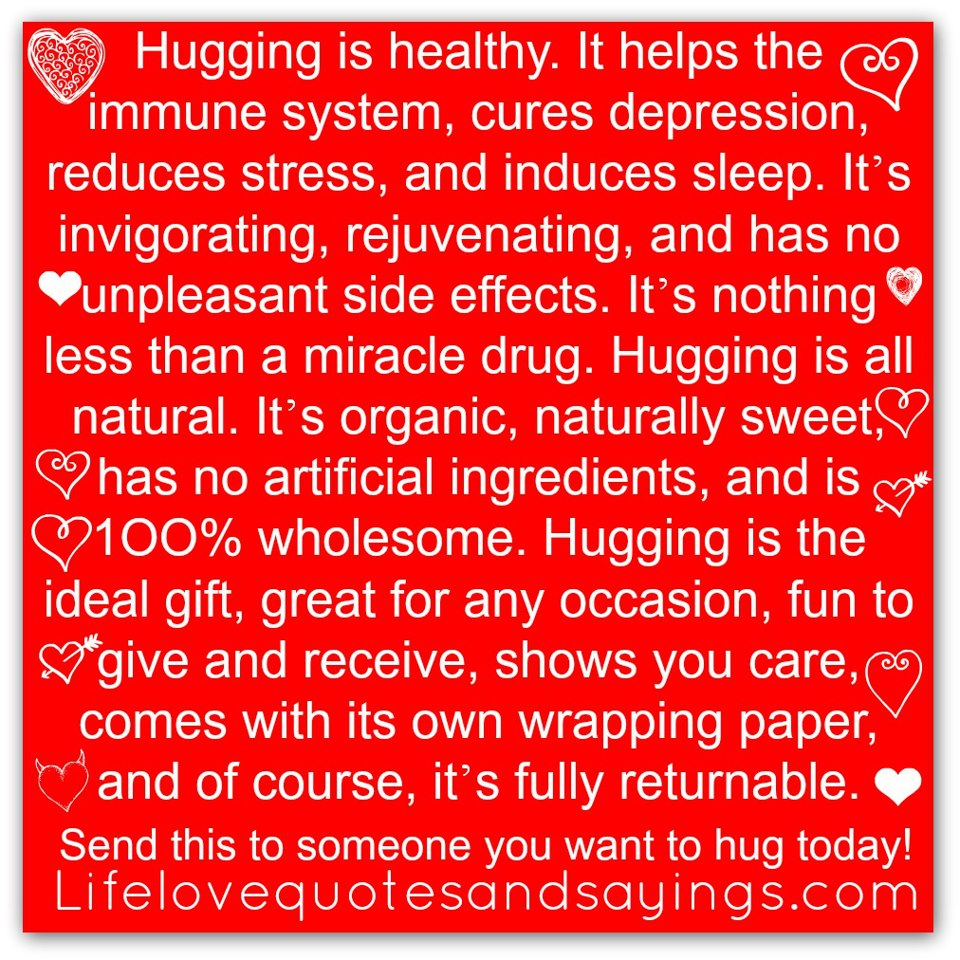 Hug Quotes And Sayings. QuotesGram