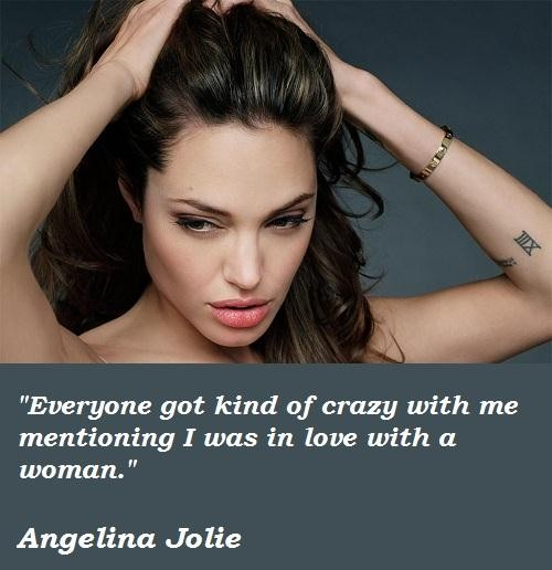 Celebrity Quotes : Angelina Jolie – OMG Quotes   Your ...