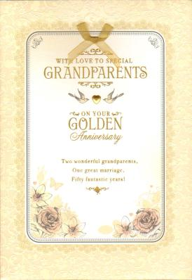 50th Anniversary Quotes To Grandparents Quotesgram