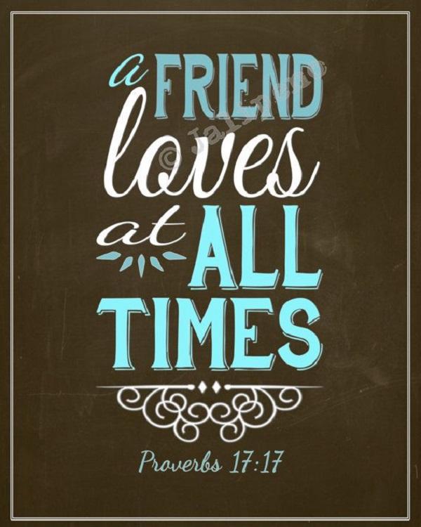 Short True Friend Quotes: Famous Bible Quotes About Friendship. QuotesGram