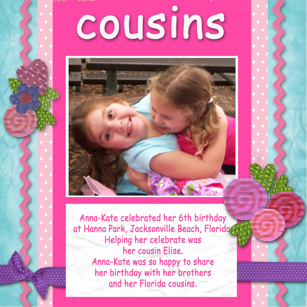 Cousin Quotes For Scrapbooking - 194.7KB