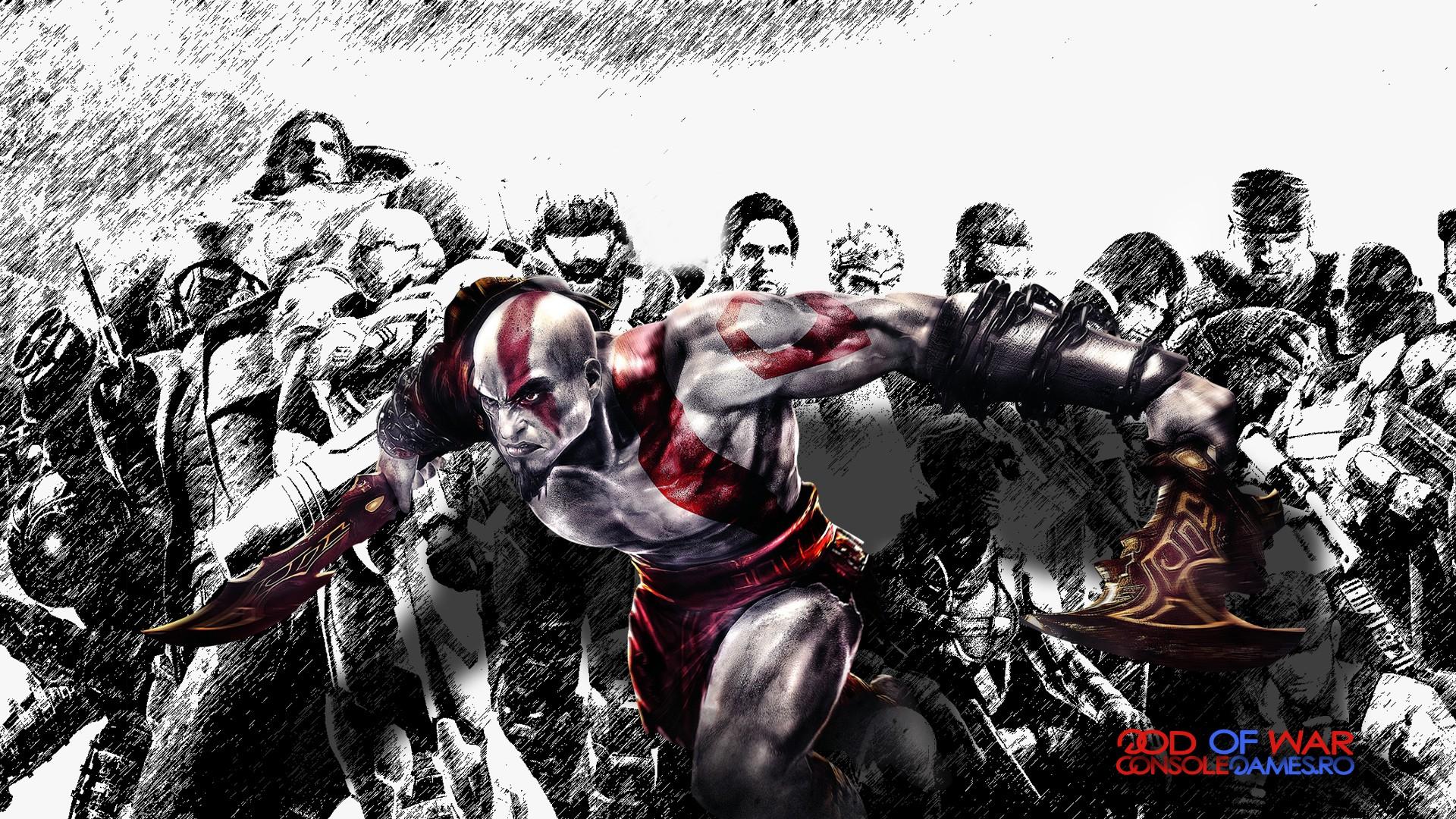 D Console Games Wallpapers Kratos God Of War Ascension Console Games Wallpaper V