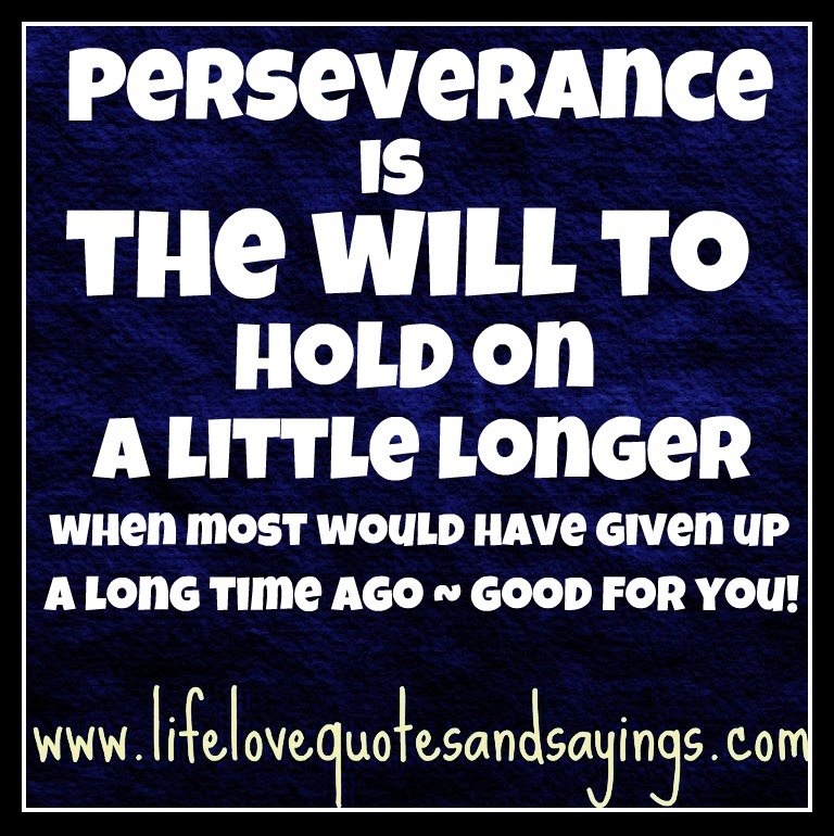 Persevering Quotes: Quotes About Perseverance And Persistence. QuotesGram
