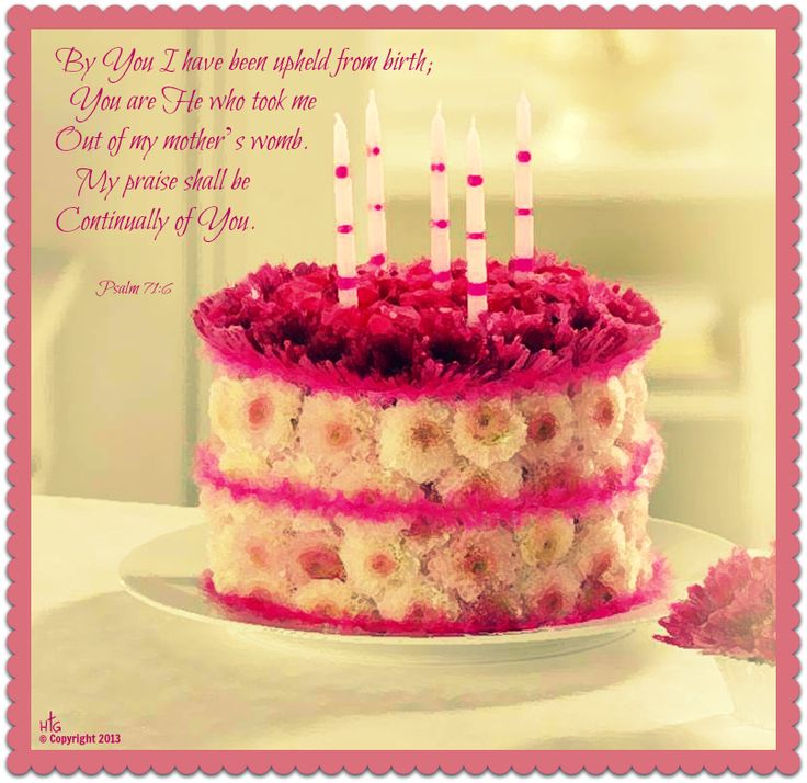 Quotes From Bible On Birthday : Birthday bible verses quotes quotesgram