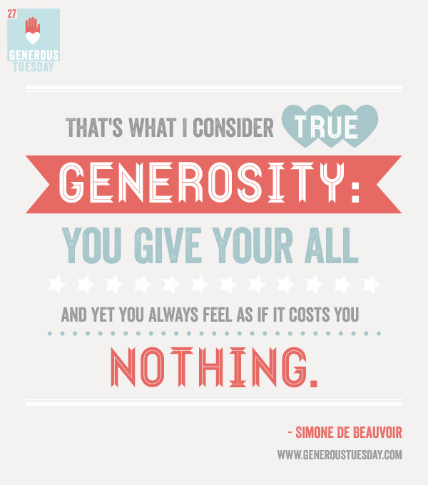 Inspirational Quotes About Positive: Giving Generously Inspirational Quotes. QuotesGram