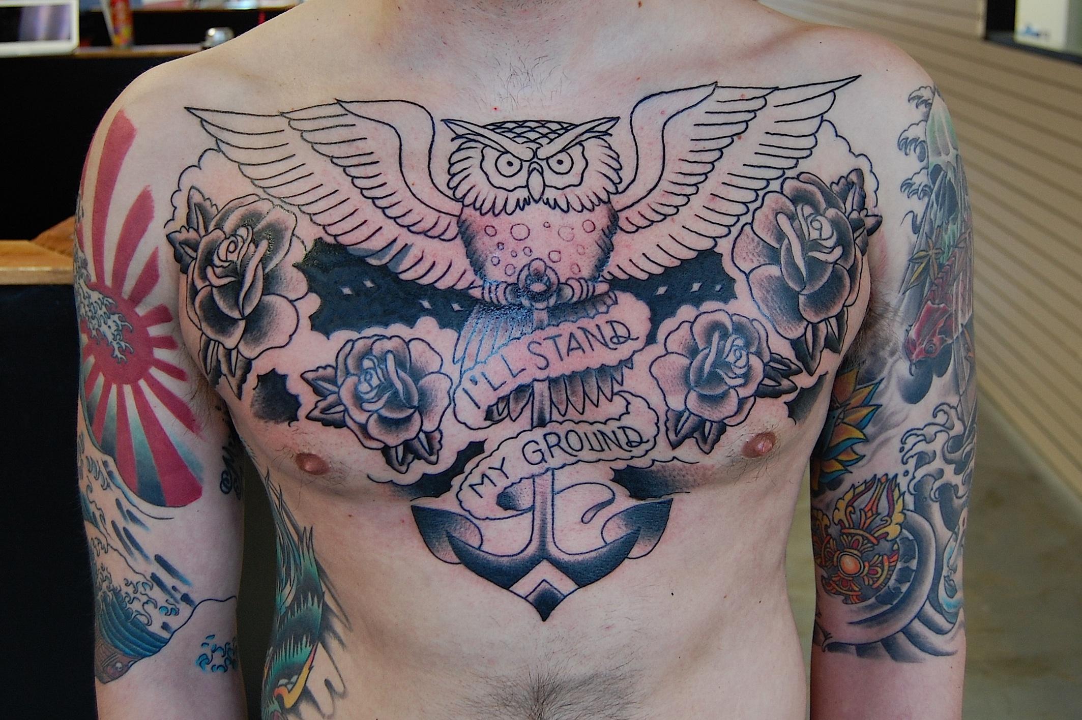 chest tattoos for women quotes quotesgram