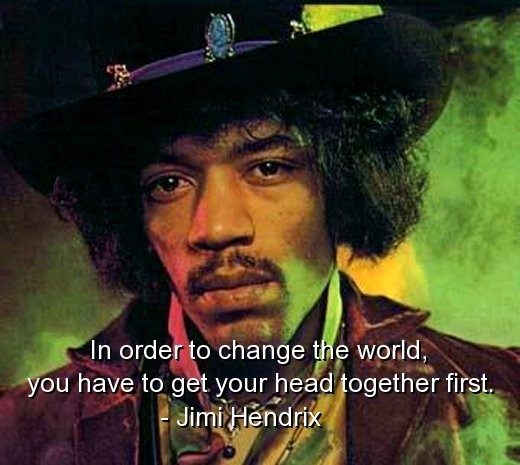 Quotes About People Who Notice: Famous Quotes By Jimi Hendrix. QuotesGram